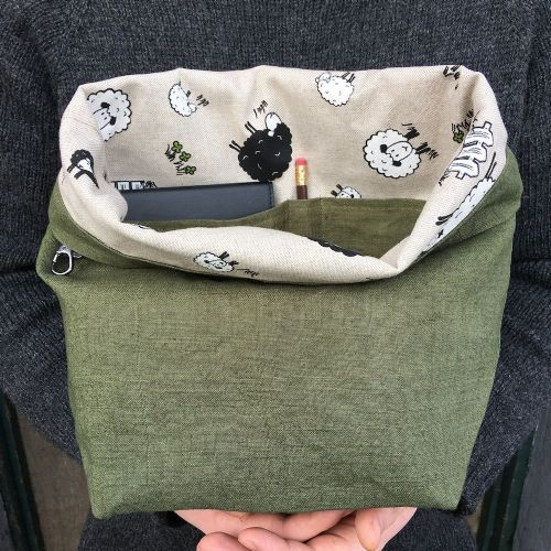The Ochils Bag - Olive/Sheep